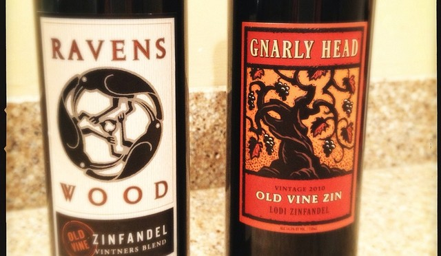 Ravenswood Vintner's Blend Old Vine Zinfandel vs. Gnarly Head Old Vine Zinfandel