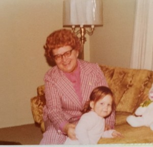 Grandma Alice and me
