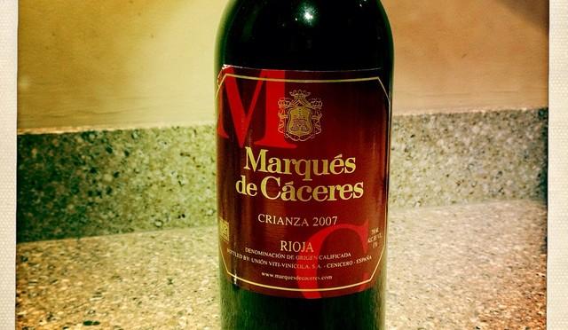 Marqués de Cáceres Rioja Crianza & Campo Viejo Rioja Reserva