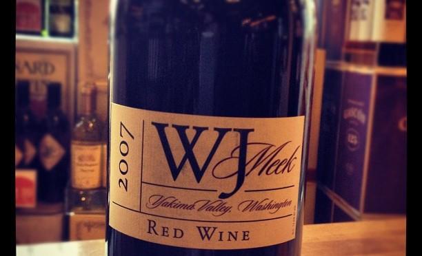 W.J. Meek Red Wine