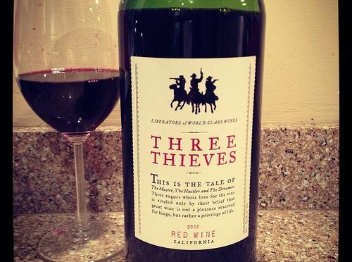 Three Thieves Red Wine