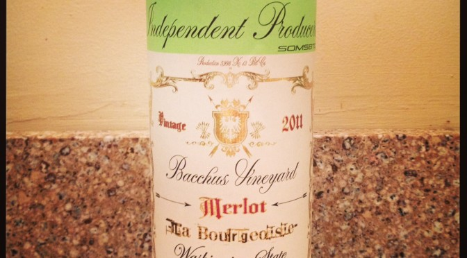 """HIP """"The Bourgeoisie"""" Merlot by Hedges Family Estate"""